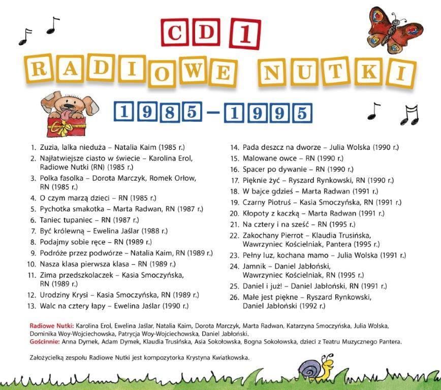Płyta Cd Audio Piosenki Krystyny Kwiatkowskiej Nowość